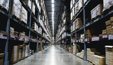 different types of inventory in the warehouse